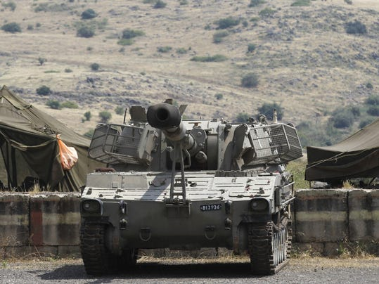 ISRAEL-GOLAN-SYRIA-CONFLICT