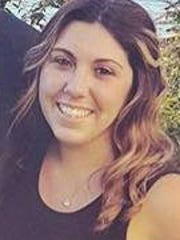 Ashley Badenchini, 25, of Stony Point, was struck and