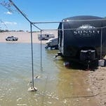 Water up at Elephant Butte ahead of weekend festivities