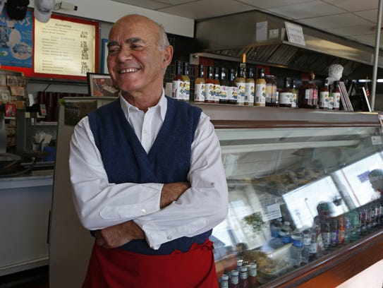 Alex Vassiliou, owner of Sebastian's Greek Restaurant,