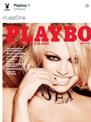 Pamela Anderson will be featured on the last nude issue of Playboy.
