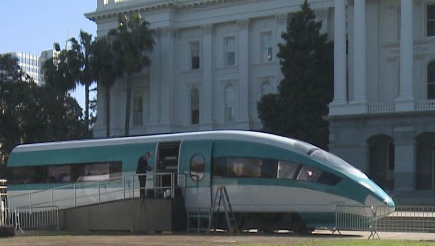 Siemens looks to wow Sacramento with high-speed rail demo