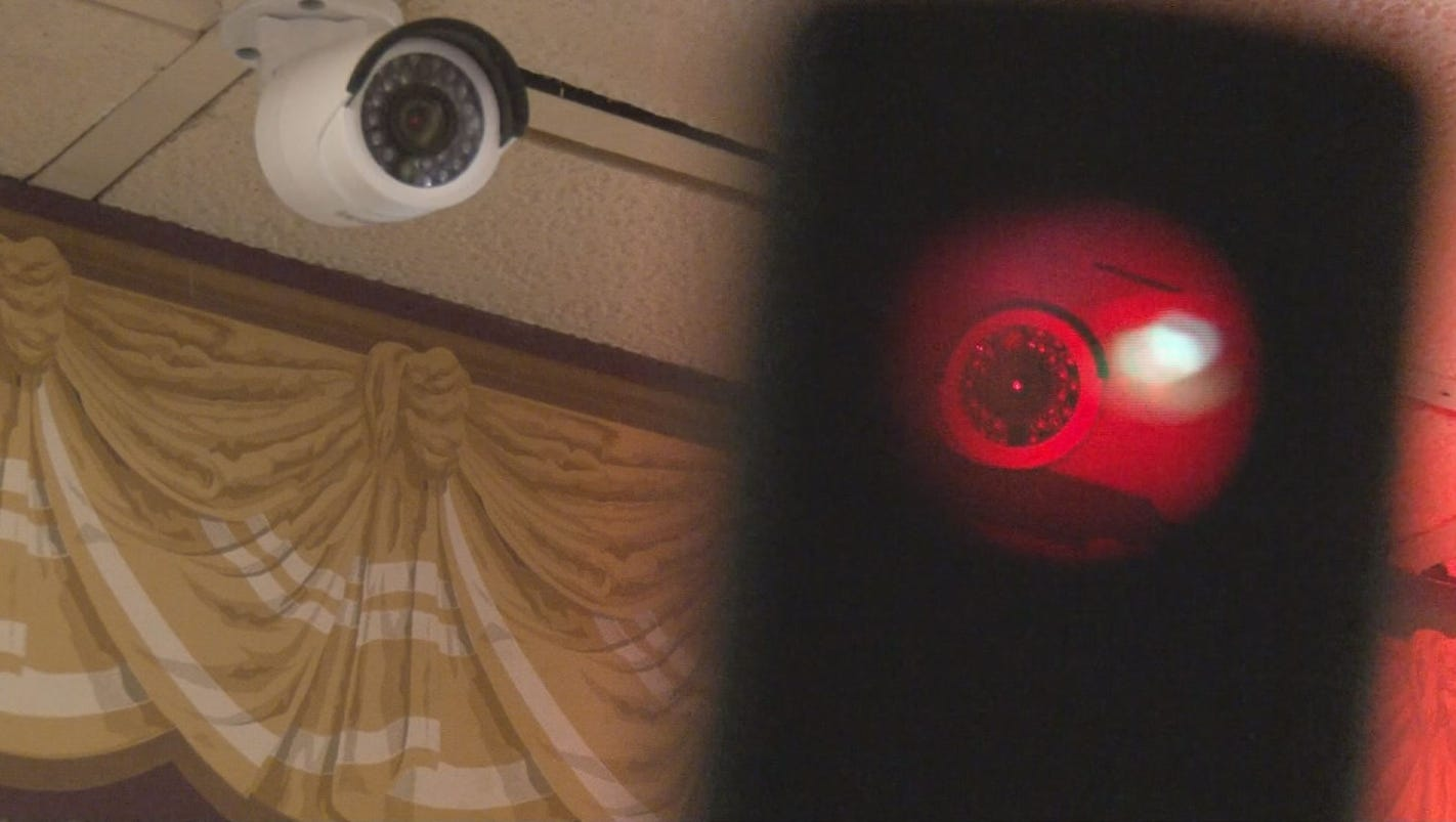 how to detect hidden cameras