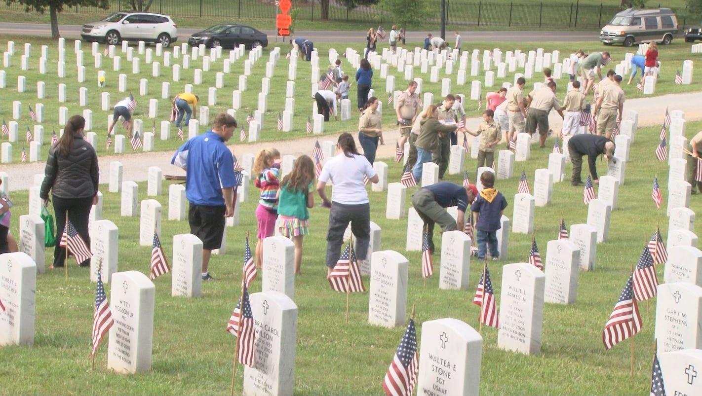 memorial day events honoring veterans