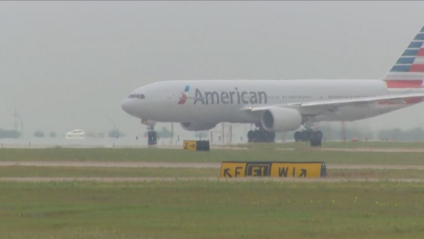 Inaugural Non Stop Flight From Dfw To Beijing Takes Off