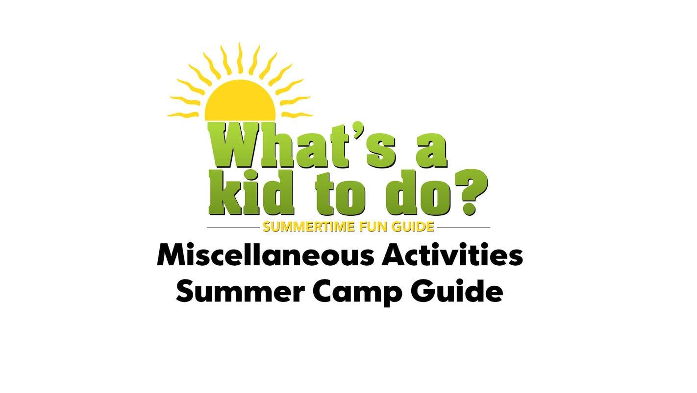 2017 summer camps miscellaneous activities xflitez Gallery