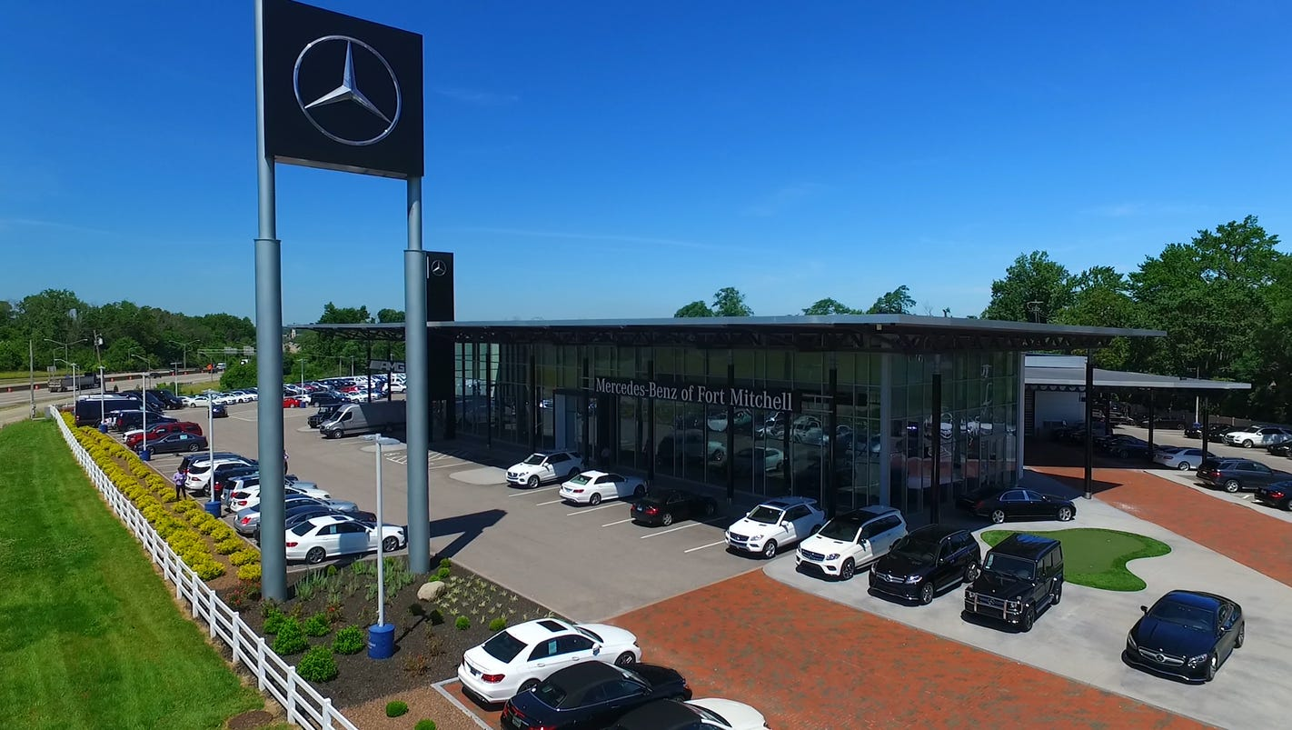 The general manager of the mercedes benz dealership as for Mercedes benz of cincinnati