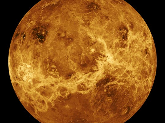 NASA's Magellan spacecraft mapped nearly all of Venus in five years orbiting the planet.