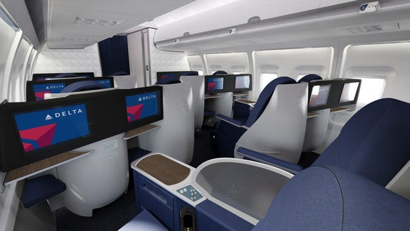 Delta Lie Flat Seats Now On All Lax Jfk Flights