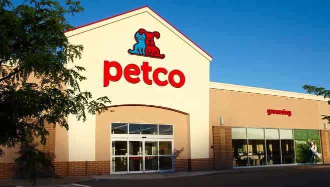 A photo of a Petco store.