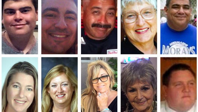 All ten nominees for Colleen Cason's 2016 Hardest Worker Contest.  Read more about each of the entries below. Top row, left to right: Tanner Linden Akseven, Michael Bonilla, John Conquest, Mary Galbraith and Joe Guerra; bottom row, left to right: Sara Hannah, Tammie Helmuth, Lydia Merrill, Beverly Nickson, and William Tipton.