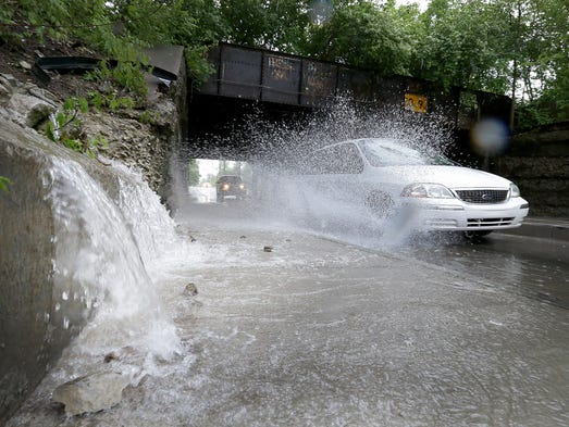 9 days of rain leave indianapolis drenched