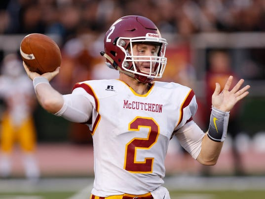 LAF Football McCutcheon at Jeff