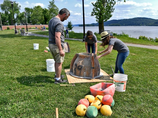 Bay habitat gets boost from local reef ball build