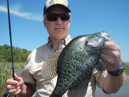Crappie spawn nearing at barnett reservoir for Ross barnett fishing report