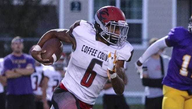 Coffee County's Alontae Taylor has committed to Tennessee.