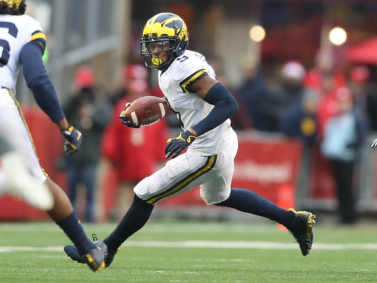 Donovan Peoples-Jones had 22 catches for 277 yards last season.