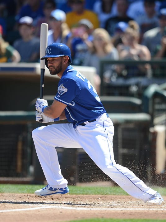 MLB: Spring Training-Oakland Athletics at Kansas City Royals