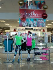 Kohls Department Store is decorated for the Holiday