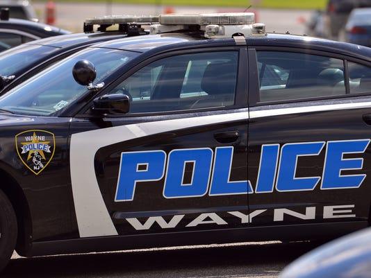 Wayne Police car