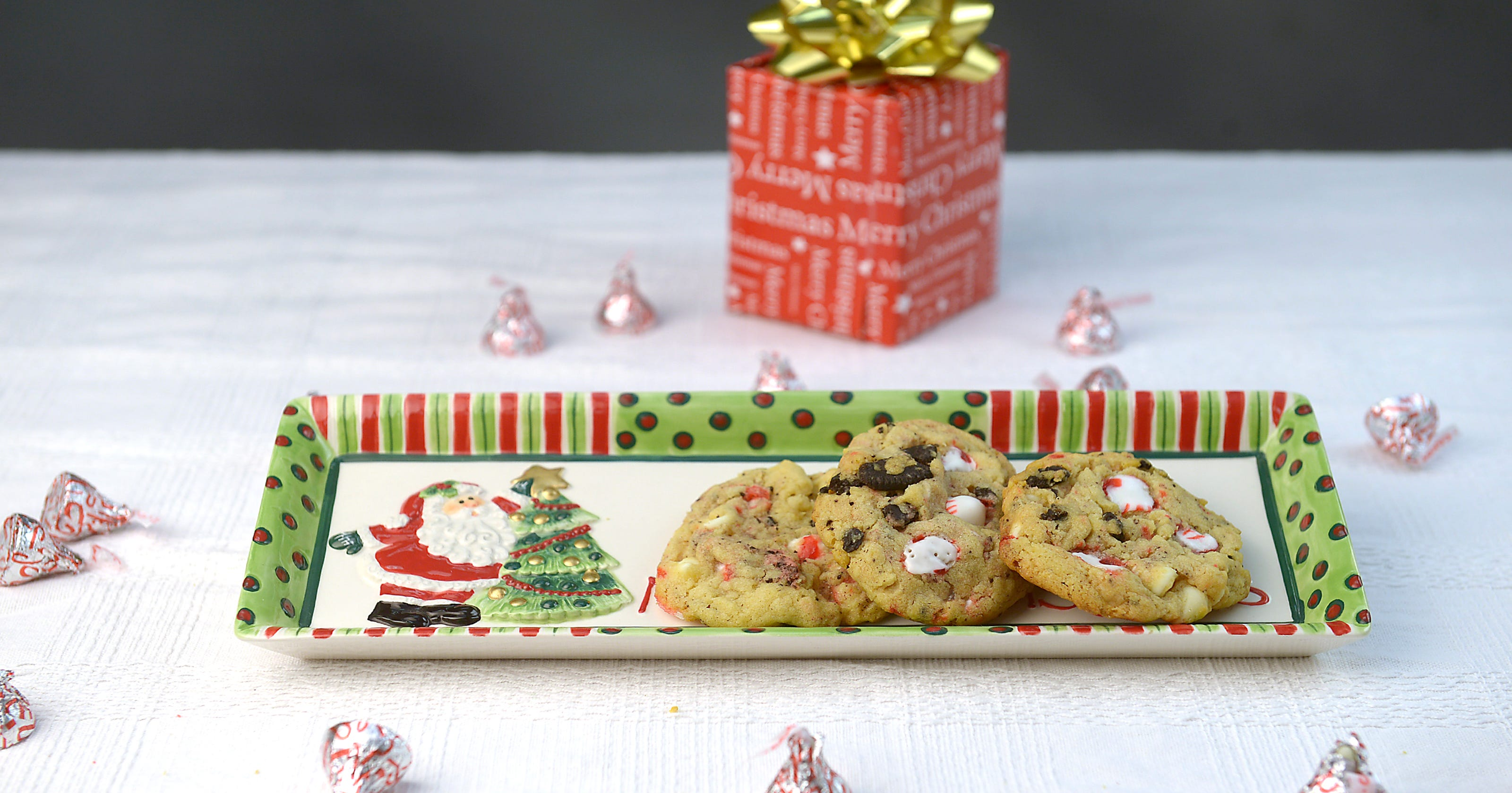 12 Days Of Cookies Oreo White Chocolate Pudding Peppermint Cookies