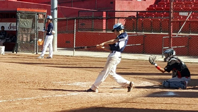 Chandler Bryan of the Colts was 1-for-4, with an RBI against Cobre on Saturday.