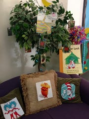 Alarcon Elementary students decorated their halls March