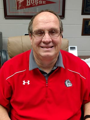 Larry Cochren was named Richmond's new athletic director late Wednesday, June 14, 2017.