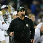 Former Baylor coach Art Briles releases first statement after being fired