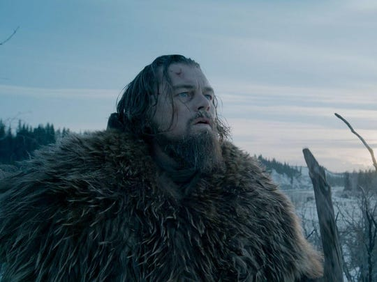 "Leonardo DiCaprio plays Hugh Glass in ""Revanant."" Though the film is set in Montana, most of it was filled in the Canadian Rockies."
