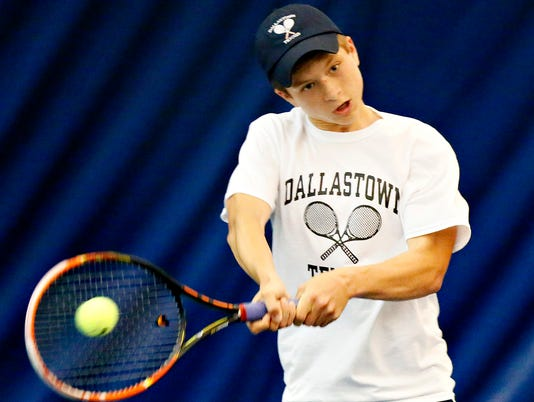 York-Adams Boys Singles Tennis Finals