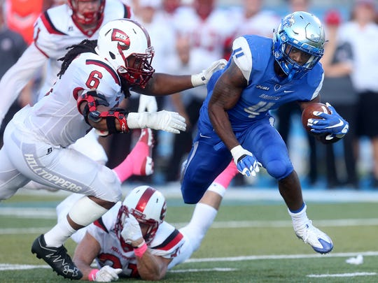 MTSU's I'Tavius Mathers (4) is one of the country's