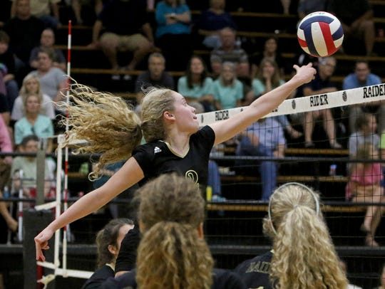 Rider's Lindsey Dodson, a senior who will play in college at Texas Tech along with her sister Lauren Dodson, is excited about seeing Lady Raider Volleyball (LRV) take the next step in 2018.