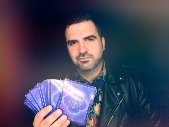 Celebrity psychic Thomas John performs in Tarrytown,