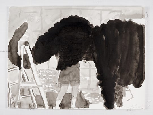 "Paul Collins, ""Alex Lockwood Building an Elephant,"""