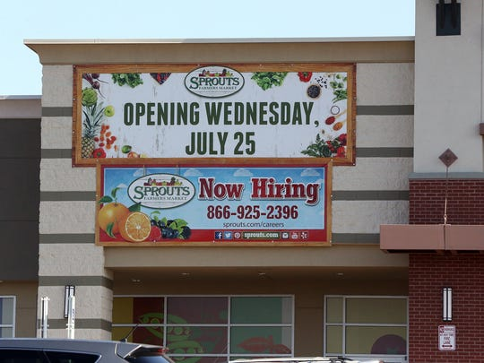The new Spouts Farmers Market at Gateway West and McRae Blvd. is scheduled to open July 25.
