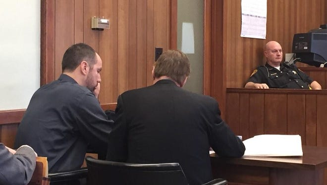 Ricky Vitte, left, in court with his attorney on Nov. 21, 2014.