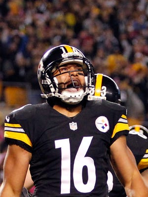 Lance Moore had 14 catches for 198 yards and two TDs for the Steelers last season.