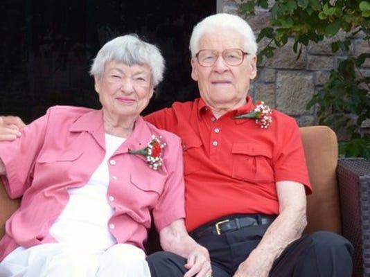 Anniversaries: Hearld Ambler & Marge Ambler