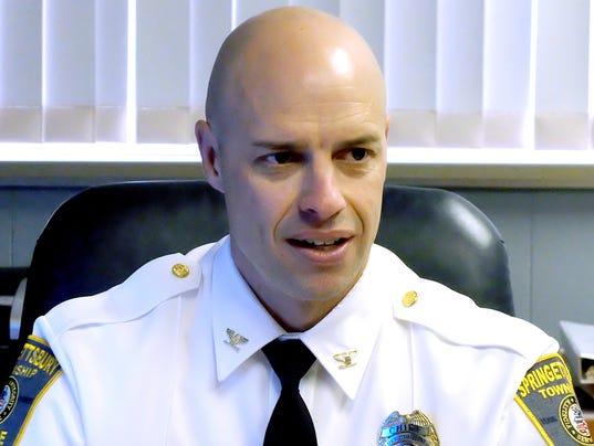 Springettsbury Township Police Chief Dan Stump