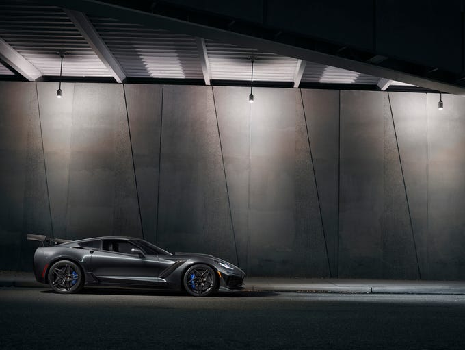 The 2019 Corvette ZR1.
