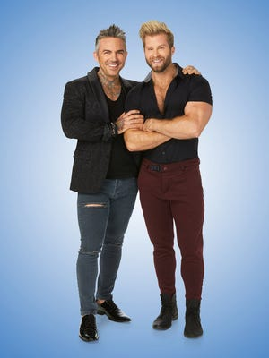 """(l-r) Brandon Liberati and Craig Ramsay, stars of """"Newlyweds: The First Yea"""" season 3 on Bravo, will be in Palm Springs on Sunday to participate in the 5th Annual Palm Springs Mayor's Race."""