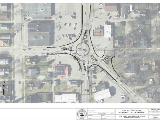 Noblesville plans to build a $1 million roundabout
