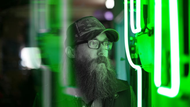 """Christian rocker David Crowder returns with a new project and album """"Neon Steeple."""""""