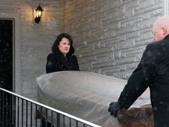 Funeral Director Jennifer Sullivan of Thomas J. Shea
