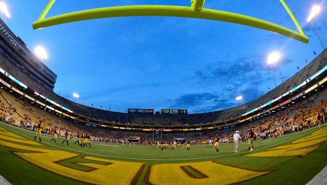 The ASU vs. New Mexico football game scheduled for Saturday, Sept. 19 has been moved to Friday, Sept. 18.
