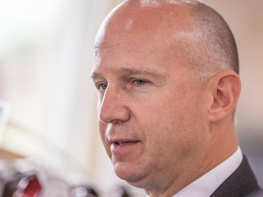 Delaware Gov. Jack Markell, a Democrat, discussed economic policy with News Journal reporters and editors on Wednesday.