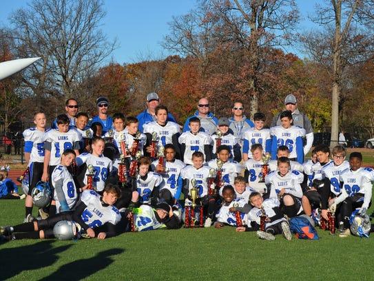 The 2016 WSJFL Super Bowl runner-up Canton Lions JV