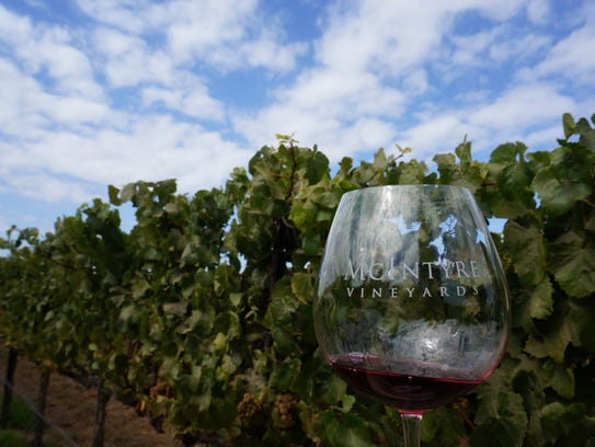 McIntyre Vineyards produces small amounts of delicious