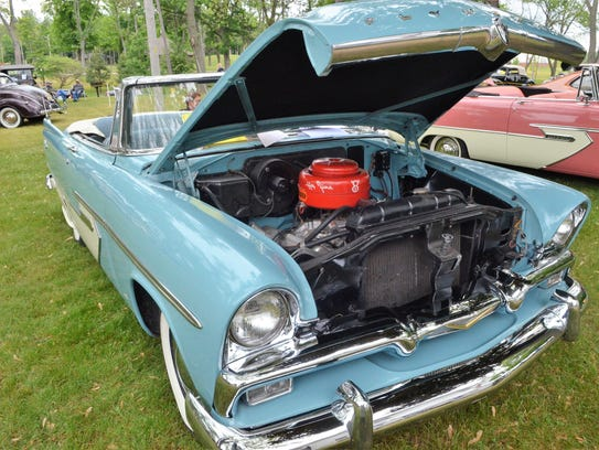 Bill Smith of East China restored his 1956 Plymouth